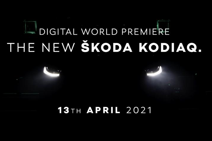 New ŠKODA KODIAQ - teaser