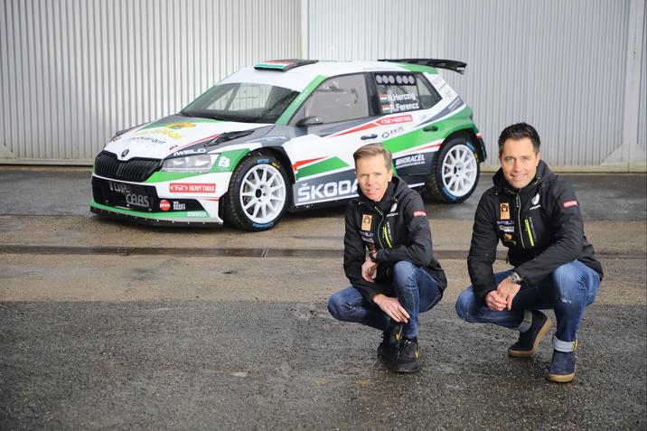 ŠKODA Rally Team Hungaria színeiben versenyez Herczig Norbert