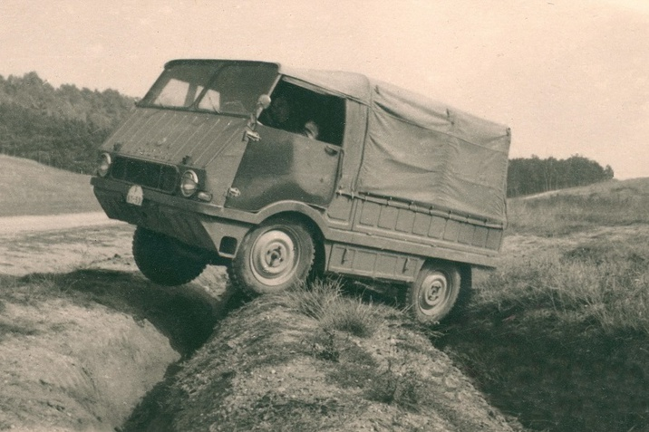 """ŠKODA 998 """"Agromobil"""" 1962-ből"""
